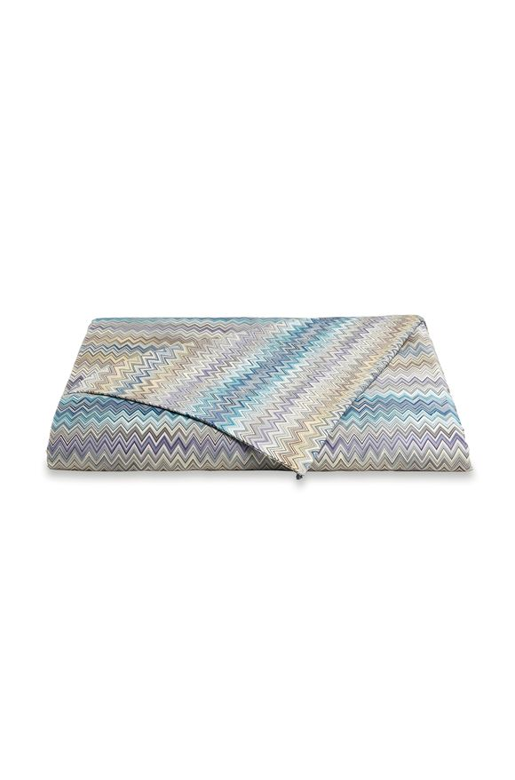 MISSONI HOME JOHN DUVET COVER  E, Frontal view
