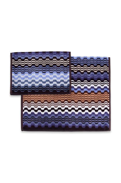 MISSONI HOME LARA 2-PIECE SET Slate blue E - Front