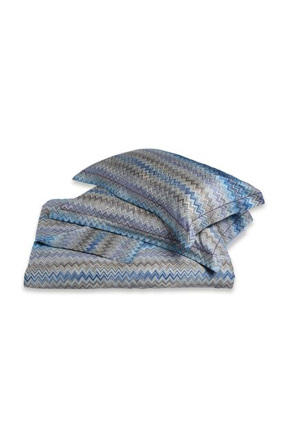 MISSONI HOME JOHN DUVET COVER SET Blue E - Back