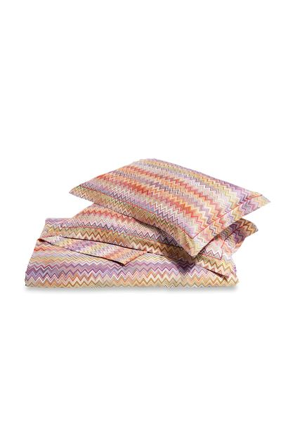 MISSONI HOME JOHN DUVET COVER SET Red E - Back