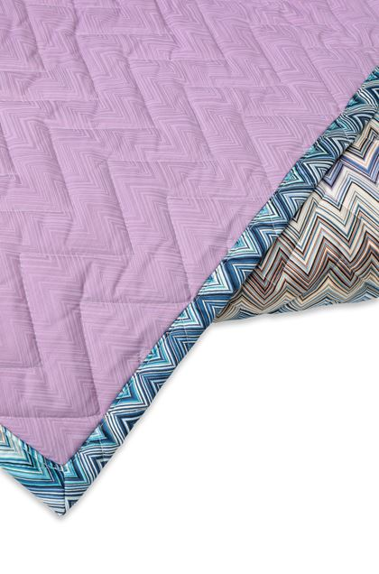 MISSONI HOME Quilt Blue E - Front