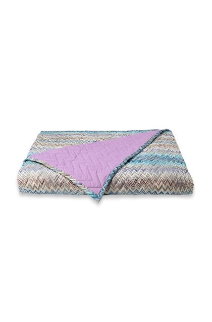 MISSONI HOME Quilt Blue E - Back
