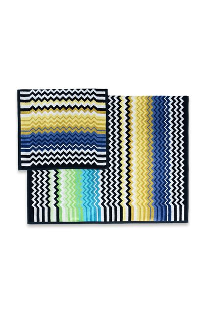 MISSONI HOME STAN КОВРИК Бирюзовый E - Передняя сторона