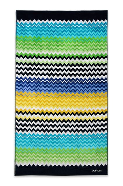 MISSONI HOME STAN BEACH TOWEL Black E - Back