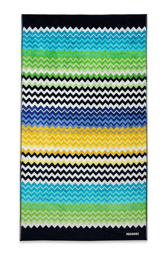 MISSONI HOME STAN BEACH TOWEL E, Frontal view