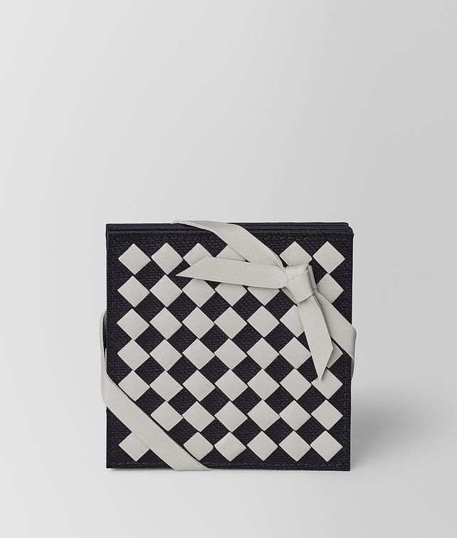 BOTTEGA VENETA COASTER IN INTRECCIATO CHEQUER TABLETOP E fp