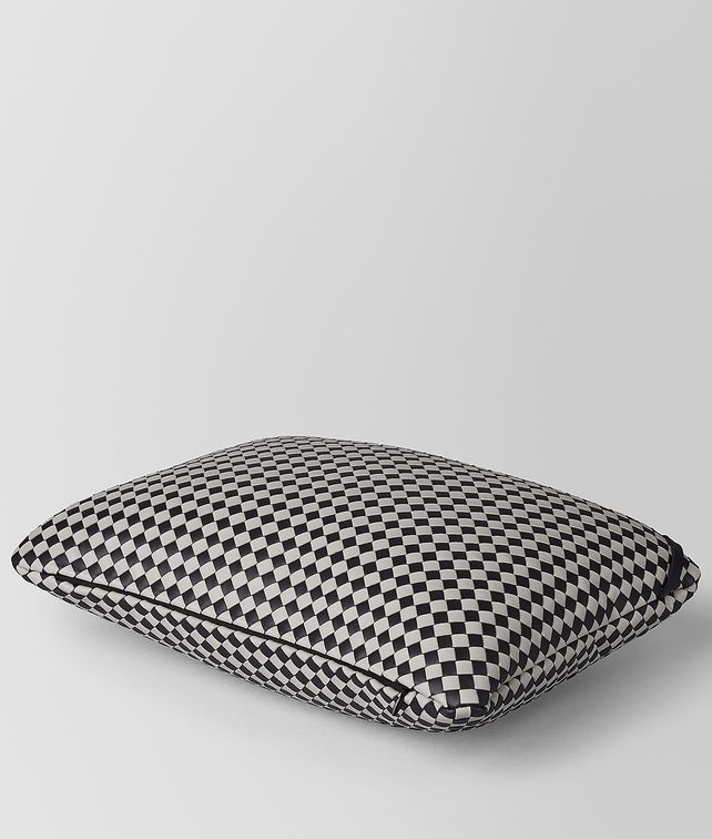 BOTTEGA VENETA RECTANGULAR PILLOW IN INTRECCIATO CHEQUER Pillow E fp