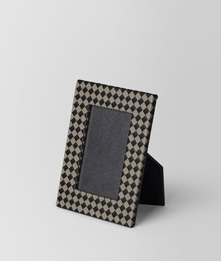 SMALL PHOTO FRAME IN INTRECCIATO CHEQUER
