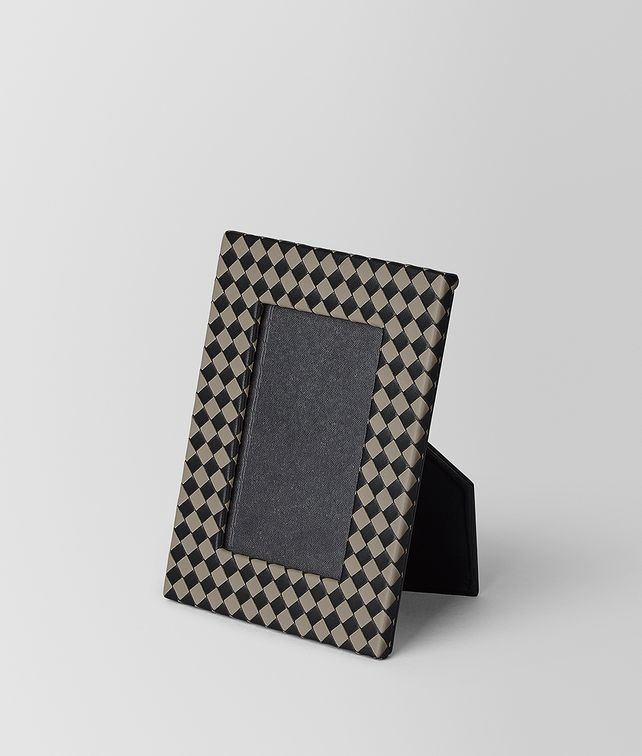 BOTTEGA VENETA SMALL PHOTO FRAME IN INTRECCIATO CHEQUER Photo frame E fp