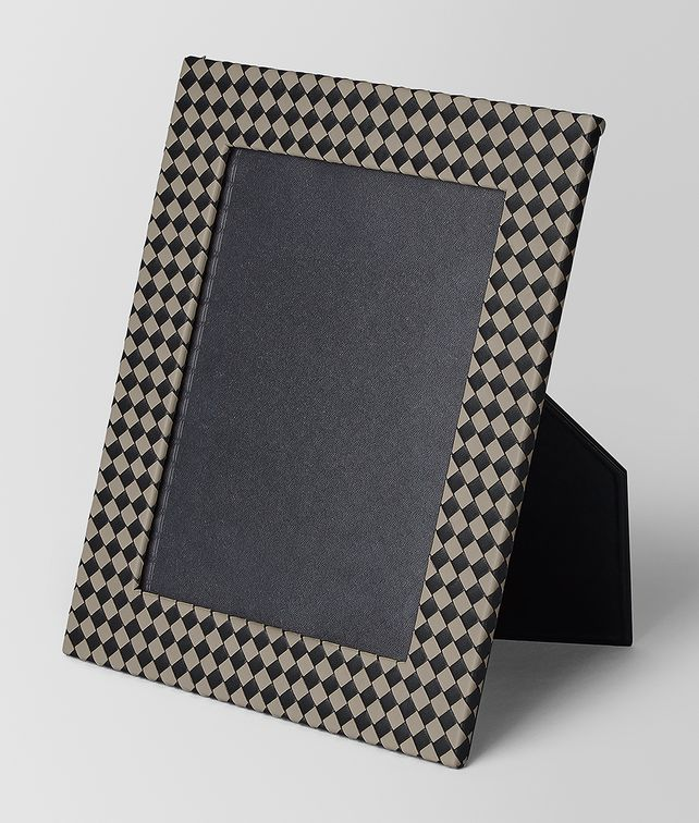 BOTTEGA VENETA LARGE PHOTO FRAME IN INTRECCIATO CHEQUER Photo frame E fp