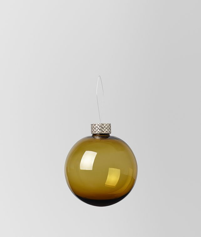BOTTEGA VENETA ORNAMENT IN GLASS Christmas Decoration E fp