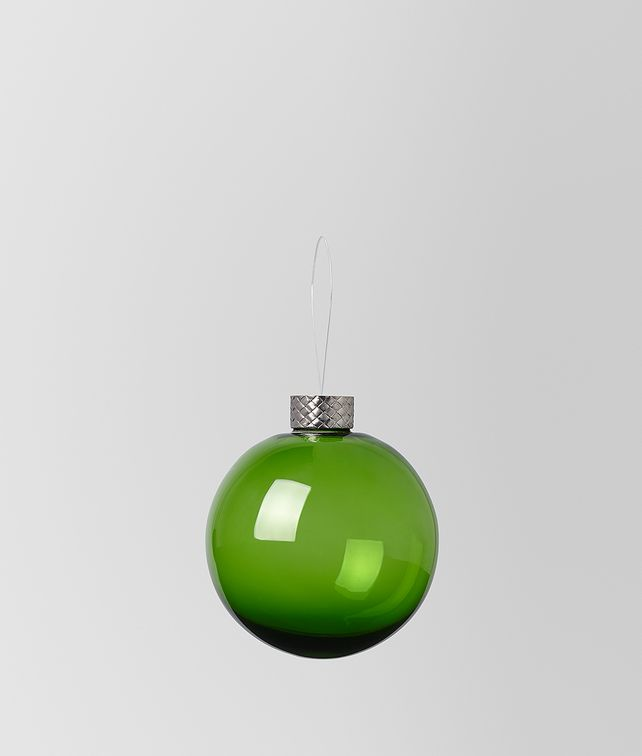 BOTTEGA VENETA ORNAMENT IN GLASS Christmas Decoration E fp