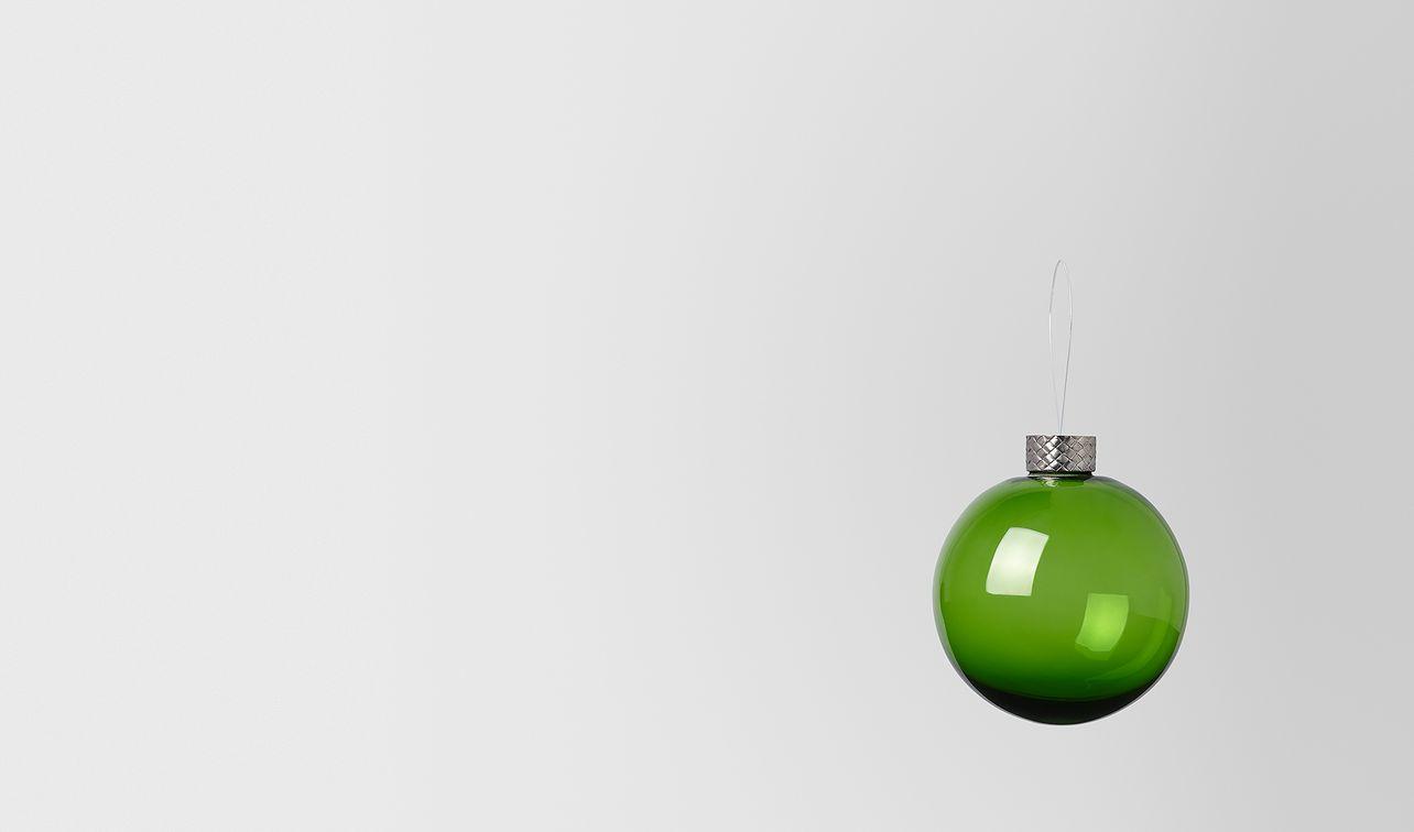 ornament in glass landing