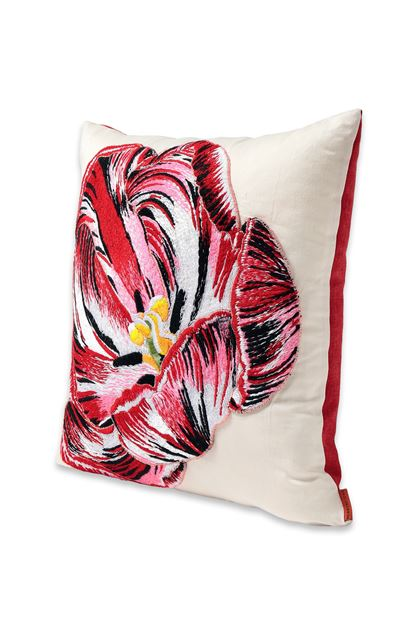 MISSONI HOME TULIPANO CUSHION Brick red E - Back