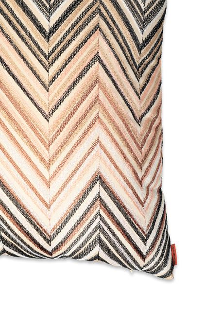 MISSONI HOME ODILE CUSHION Beige E - Front