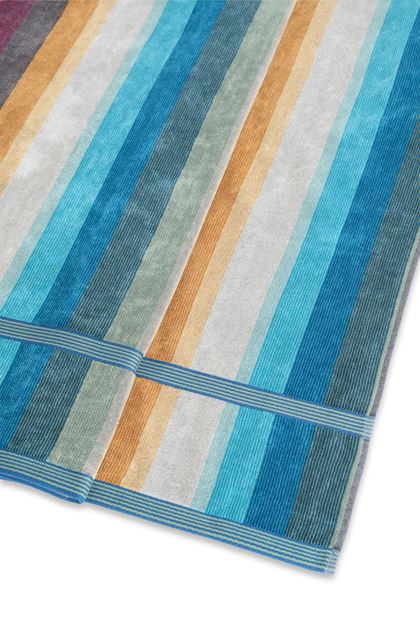 MISSONI HOME WOODY TOWEL Azure E - Front