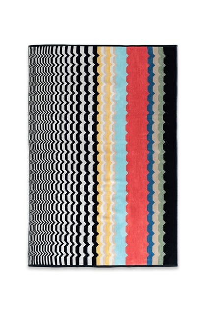 MISSONI HOME WOLF TELO Nero E - Retro