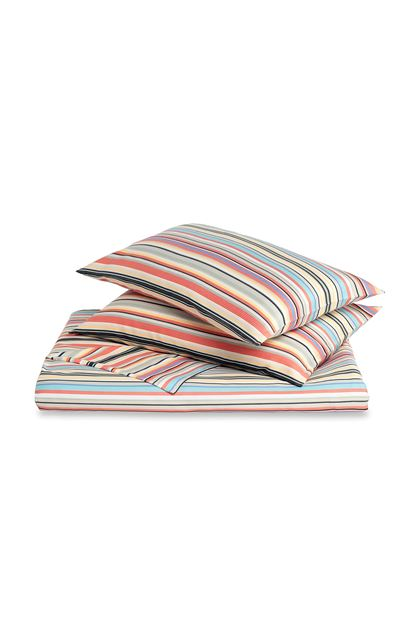 MISSONI HOME WENDELL DUVET COVER SET Dove grey E - Back