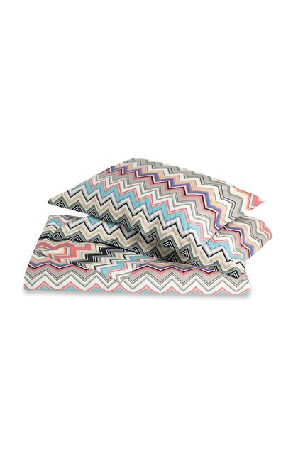 MISSONI HOME WALTER DUVET COVER SET Dove grey E - Back