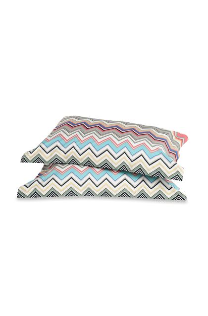 MISSONI HOME WALTER PILLOWCASES 2-PIECE SET Dove grey E - Back