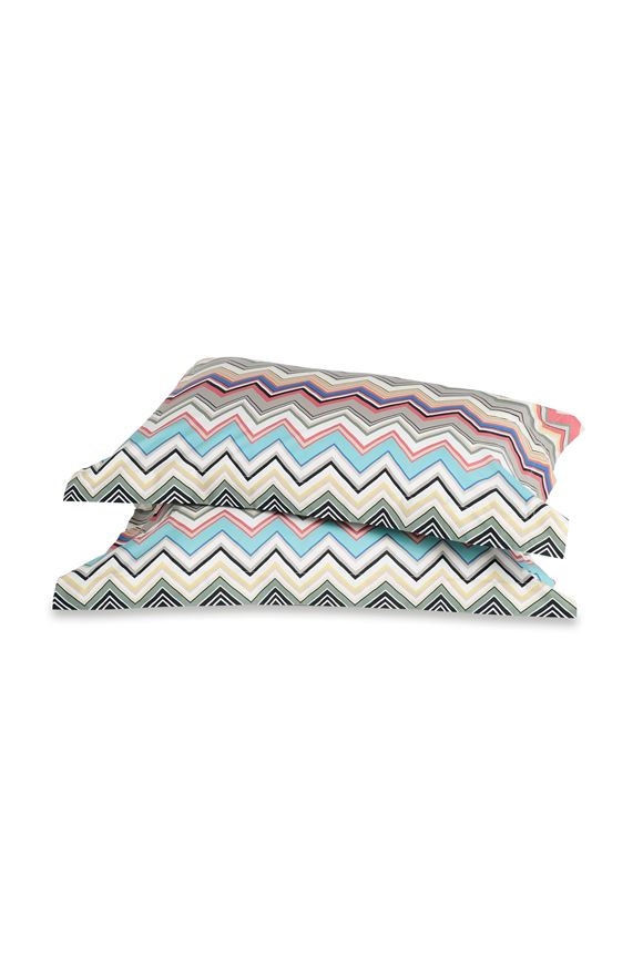 MISSONI HOME WALTER PILLOWCASES 2-PIECE SET E, Frontal view