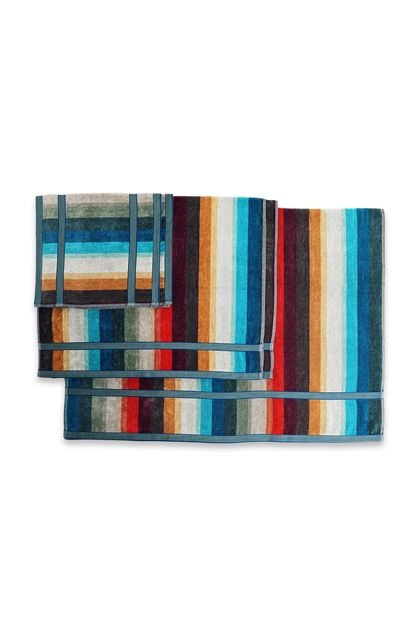 MISSONI HOME WOODY FULL 5 PEZZI Blu E - Fronte
