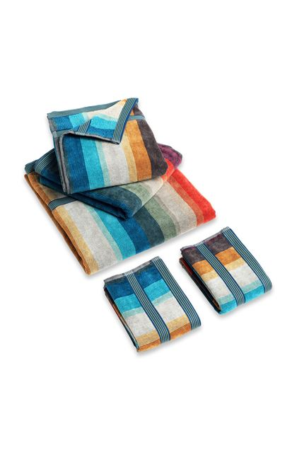 MISSONI HOME WOODY FULL 5 PEZZI Blu E - Retro