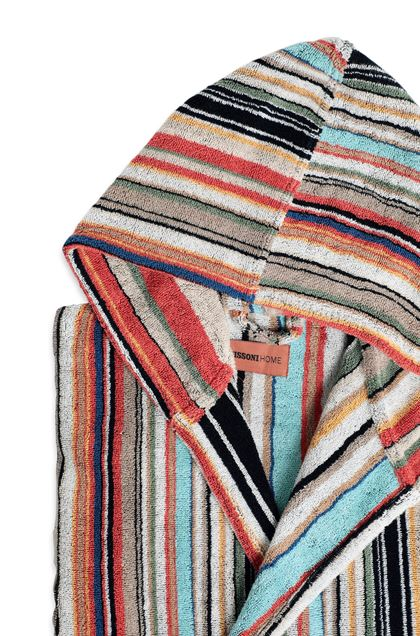 MISSONI HOME WARREN ACCAPPATOIO CAPPUCCIO Ruggine E - Fronte