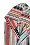 MISSONI HOME WARREN HOODED BATHROBE E, Rear view