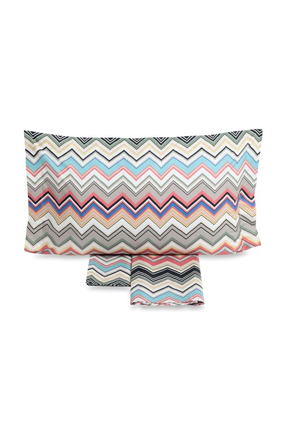 MISSONI HOME WALTER  SHEET SET Grey E