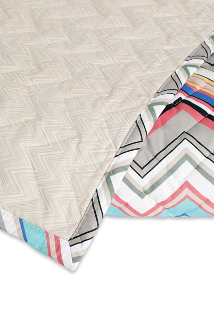 MISSONI HOME WALTER QUILT Dove grey E - Front
