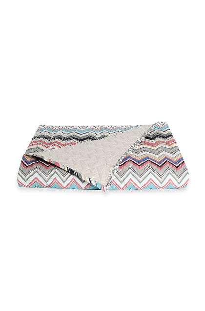 MISSONI HOME WALTER QUILT Dove grey E - Back