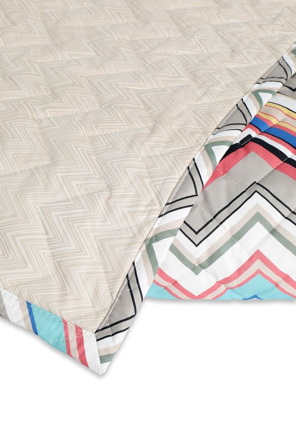 MISSONI HOME WALTER QUILT E, Rear view