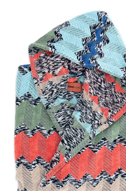 MISSONI HOME WILFRED  ACCAPPATOIO CAPPUCCIO Ruggine E - Fronte
