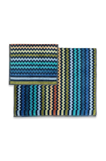 MISSONI HOME WARNER SET 2 PEZZI Blu E - Fronte