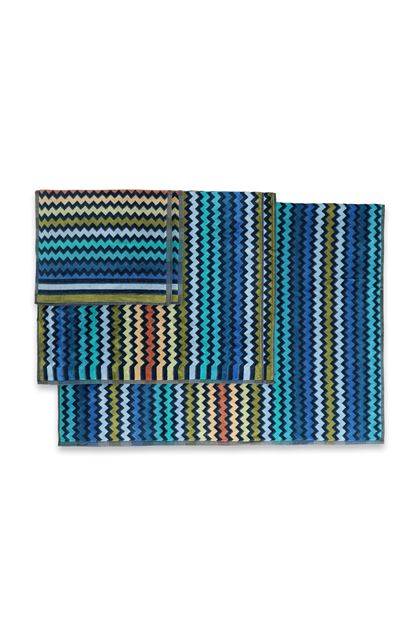 MISSONI HOME WARNER 5-PIECE SET Dark blue E - Front