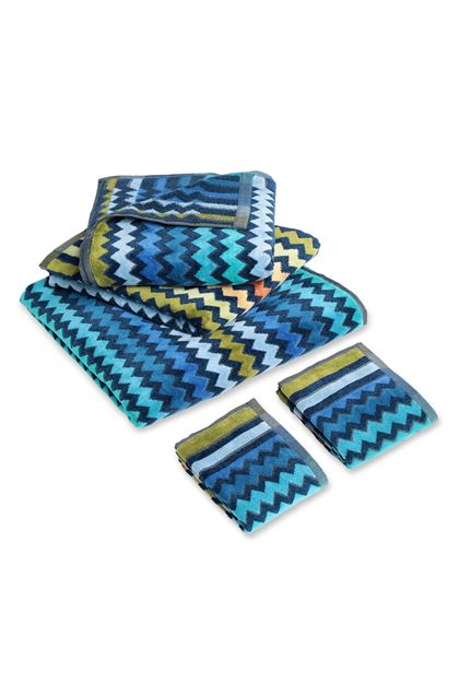 MISSONI HOME WARNER 5-PIECE SET Dark blue E - Back