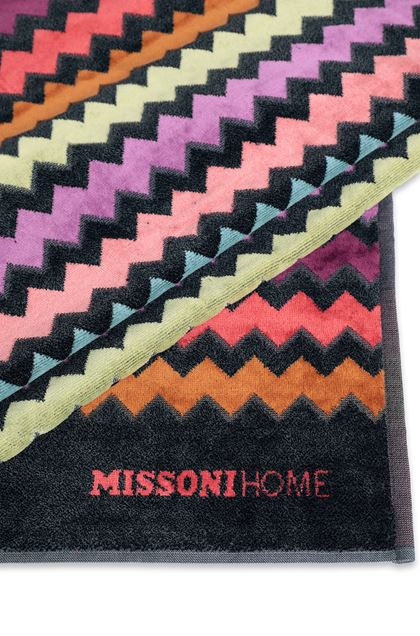 MISSONI HOME WARNER BEACH TOWEL Rust E - Front