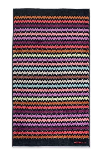 MISSONI HOME WARNER BEACH TOWEL Rust E - Back
