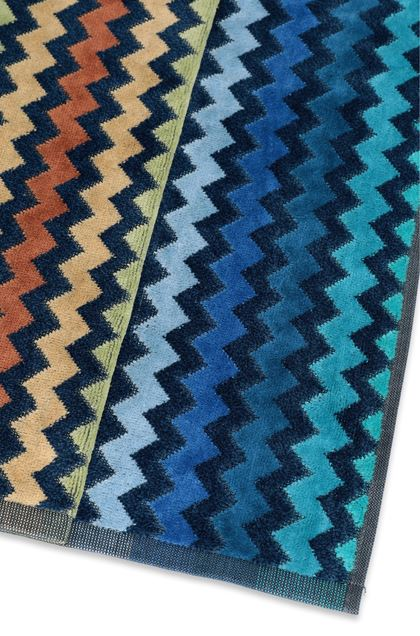 MISSONI HOME WARNER TOWEL Dark blue E - Front