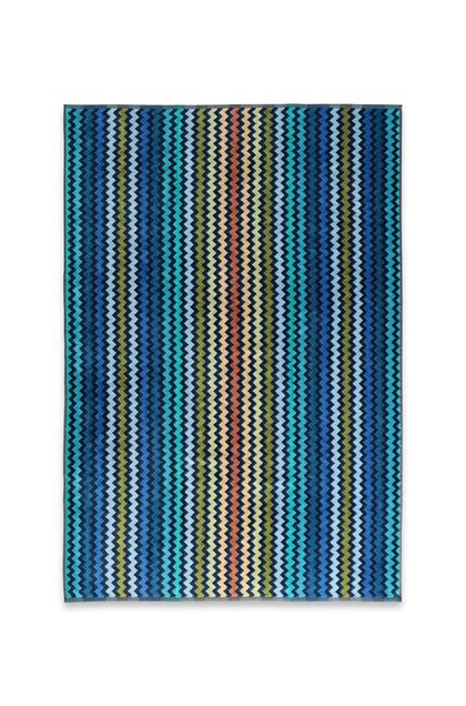 MISSONI HOME WARNER TOWEL Dark blue E - Back