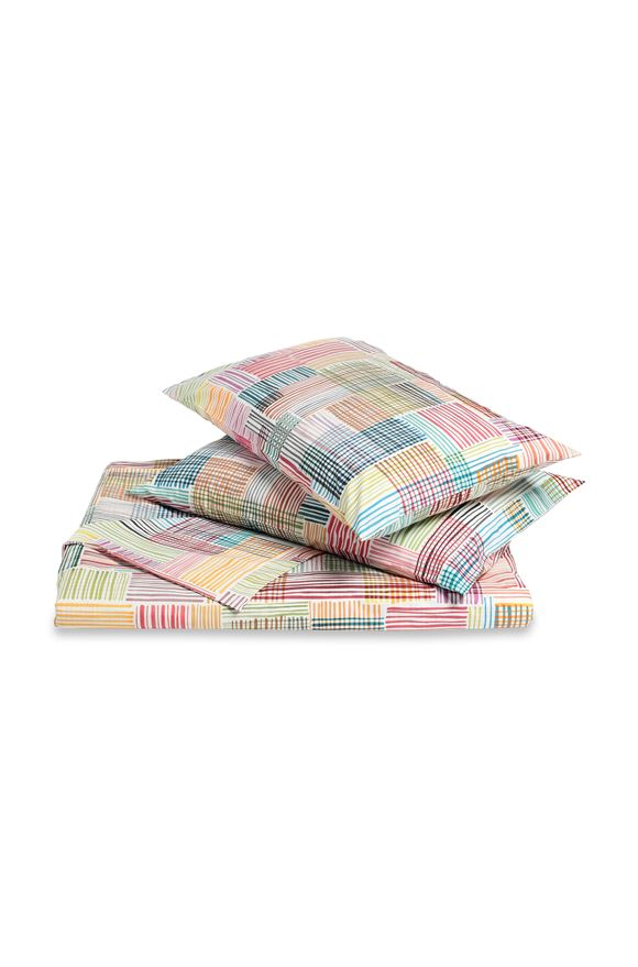 MISSONI HOME WILLIS DUVET COVER SET White E