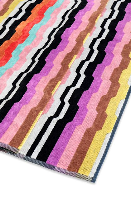 MISSONI HOME WILBUR ПОЛОТЕНЦЕ Чёрный E - Передняя сторона