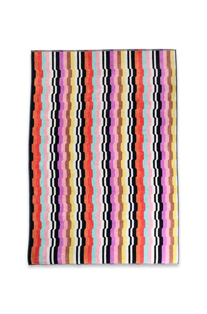 MISSONI HOME WILBUR TOWEL Black E - Back