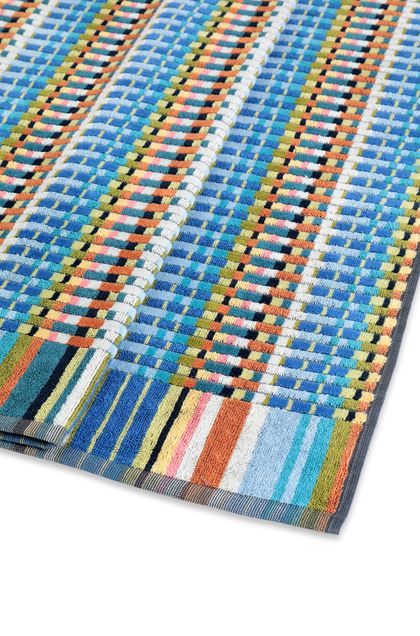 MISSONI HOME WALBERT TOWEL Pastel blue E - Front