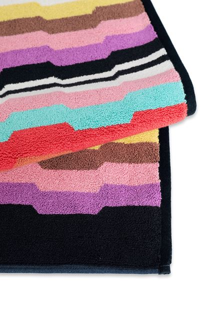 MISSONI HOME WILBUR  BATH MAT Black E - Front