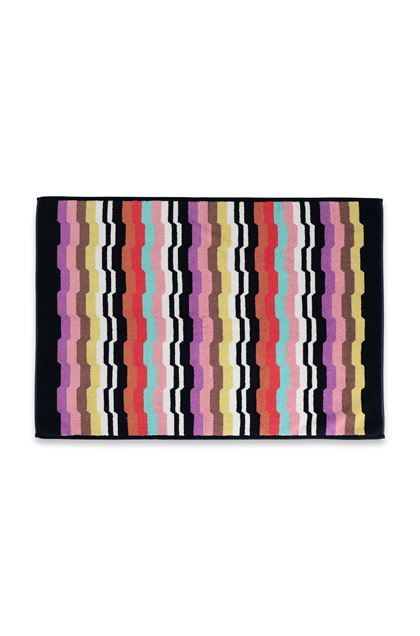 MISSONI HOME WILBUR  BATH MAT Black E - Back