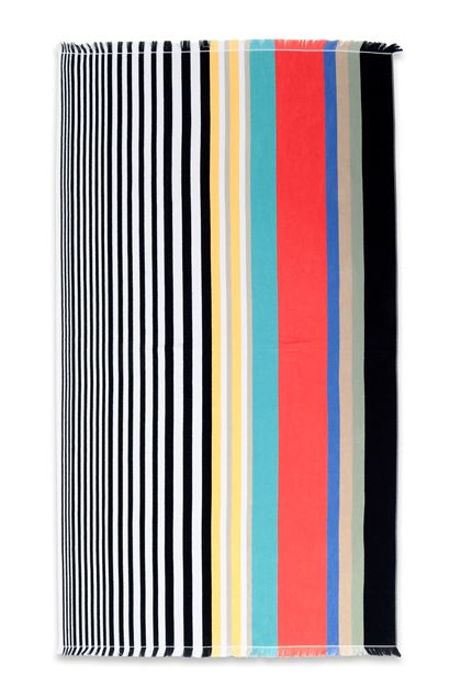 MISSONI HOME WAYNE BEACH TOWEL White E - Back
