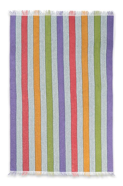 MISSONI HOME WALDEMAR BEACH TOWEL Purple E - Back