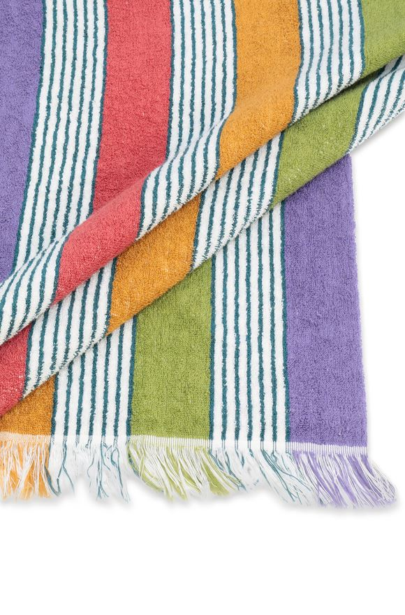 MISSONI HOME WALDEMAR BEACH TOWEL E, Rear view